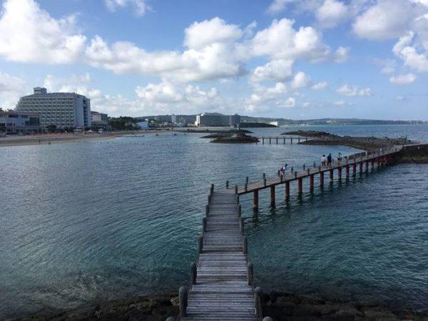 シェラトン沖縄サンマリーナリゾート 遊歩道