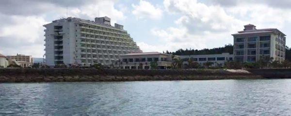 シェラトン沖縄サンマリーナリゾート グラスボートからの景色