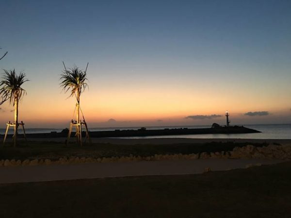 シェラトン沖縄サンマリーナリゾート 夕景