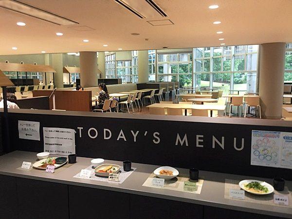 女子美術大学オープンキャンパス 食堂