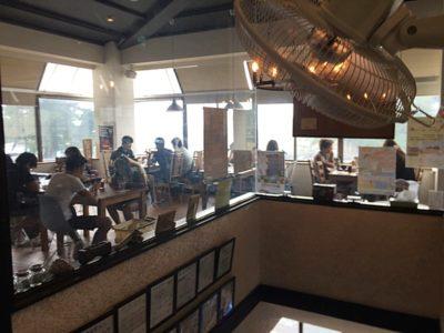 堂ヶ島食堂室内