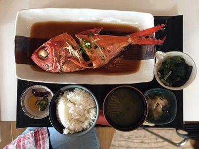 堂ヶ島食堂金目鯛