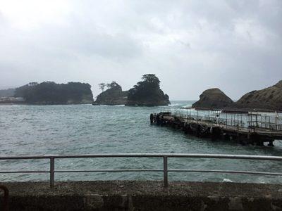 堂ヶ島の景色